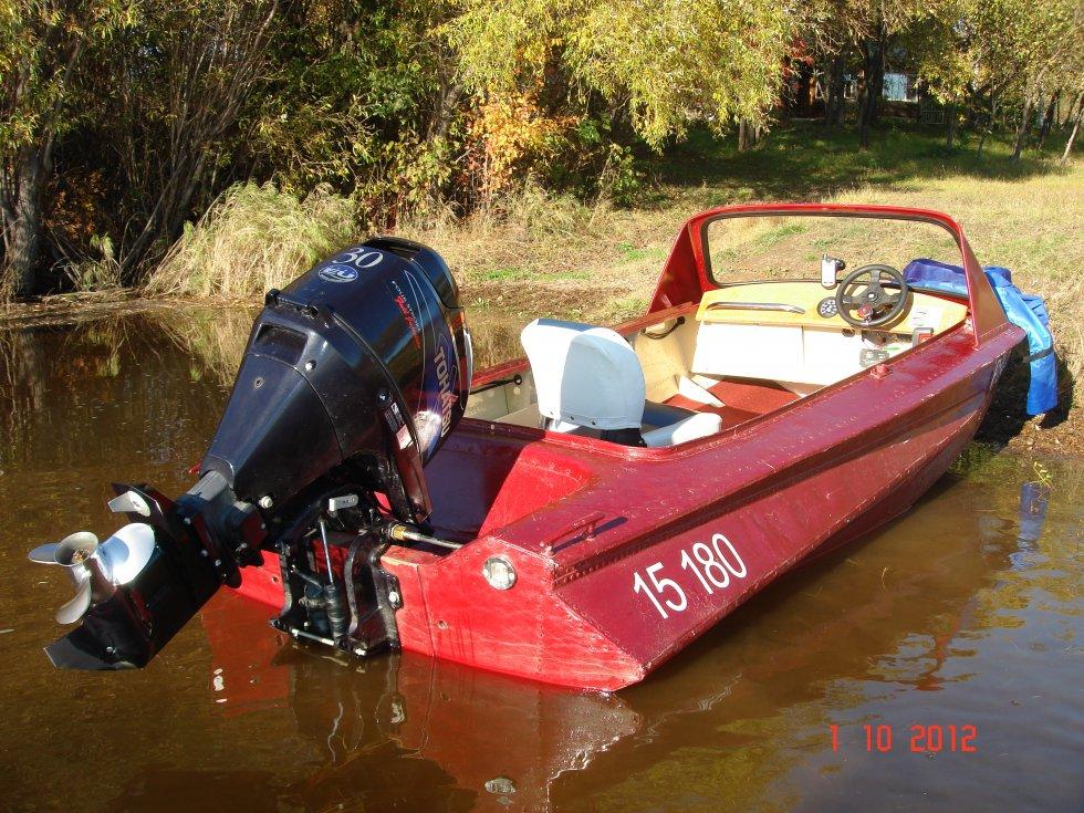 моторная лодка обь фото перила