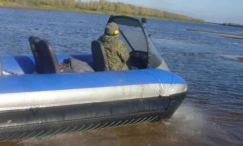 ремонт прорезиненной лодки
