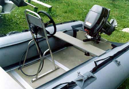 видео лодки на румпеле