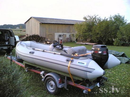 тюнинг лодок пвх на русфишинге