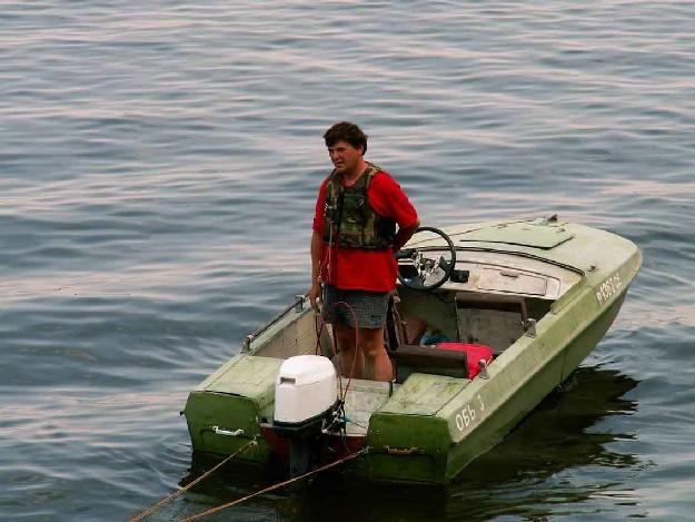 выбрать надувную лодку рыбалки