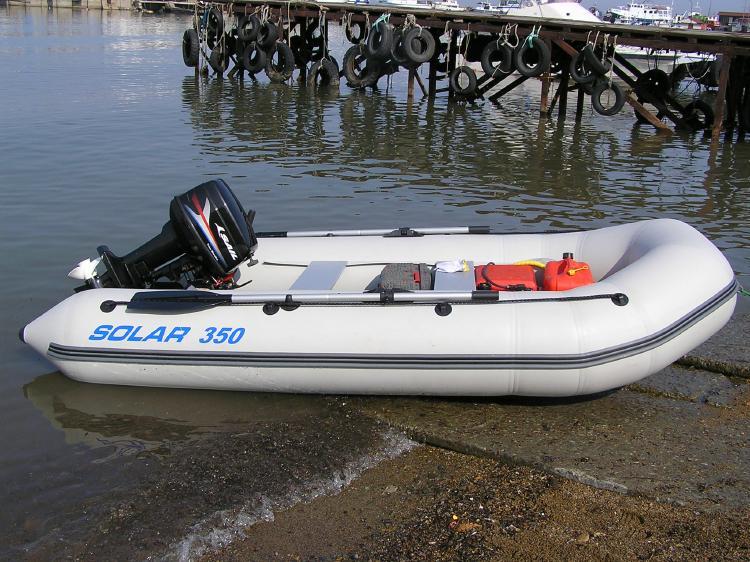 купить лодку солар 350 оптима
