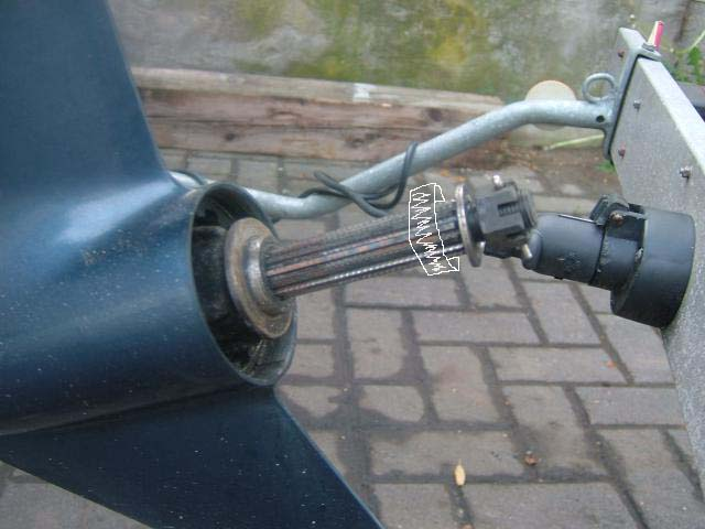 как выправить винт лодочного мотора