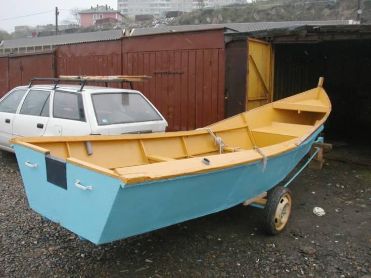 лодка по типу джонбота