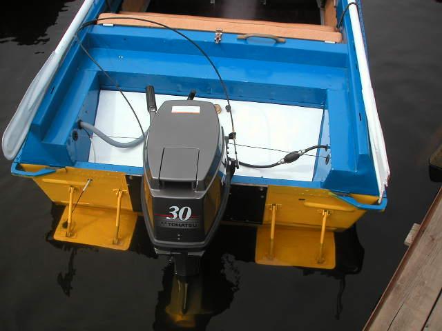 как содеять содружество  плавучести на лодке днепр