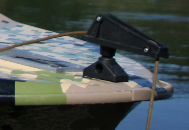 Якорный подъемник на лодку