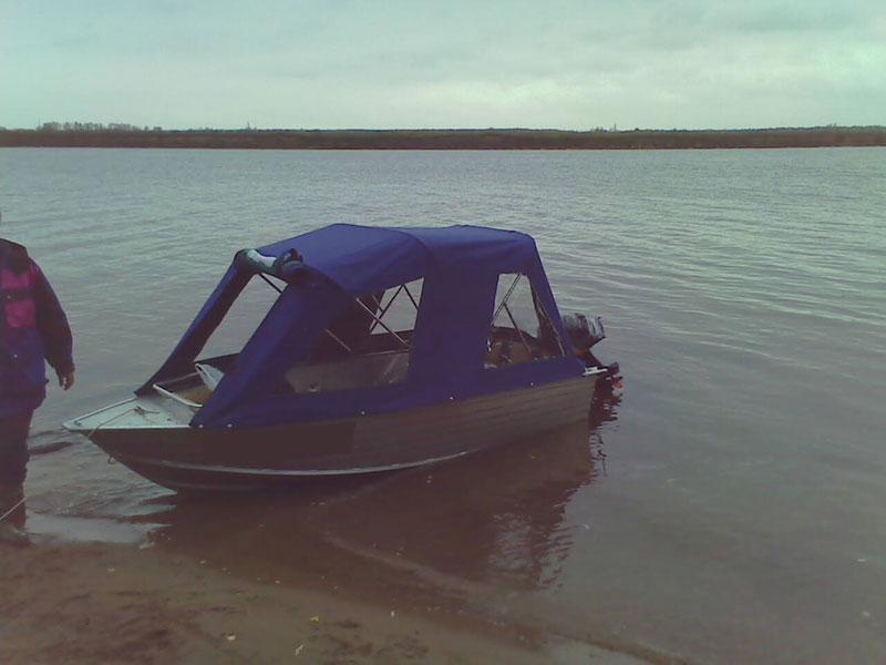 ходовой тент на лодку виндбот 42