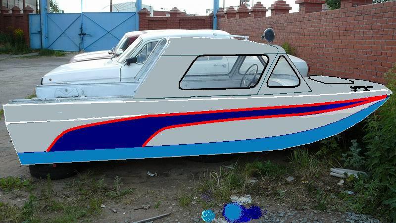 красиво покрасить лодку