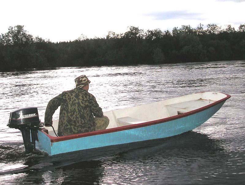 Как построить лодку джонбот