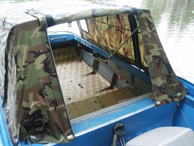 какой материал для тента на лодку