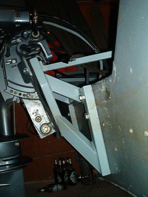 авито сарат как сделать выносной транец на катер термобельем