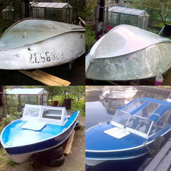 Покраска стальной лодки. Подготовка поверхности к покраске