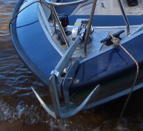 Якорный роульс на пвх лодку своими руками