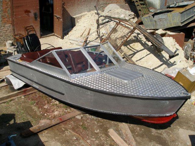 старая лодка прогресс