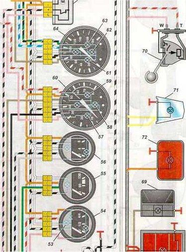 Датчик топлива ваз 2106 схема подключения