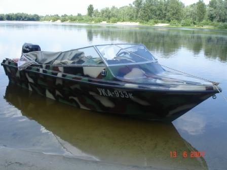 лодка из жидкого пластика