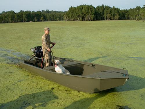 специальные лодки для мелководья