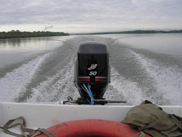 мощность лодочного мотора от лодки