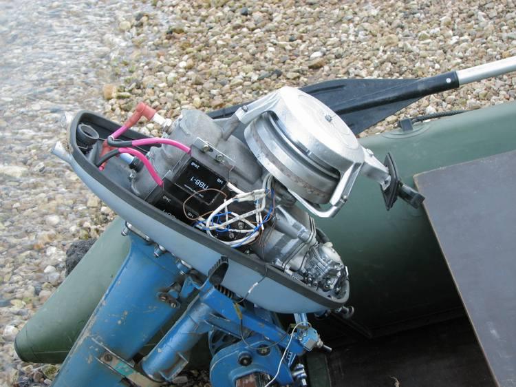 подвесные моторы для лодок ветерок
