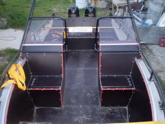тюнинг алюминиевых лодок для рыбалки