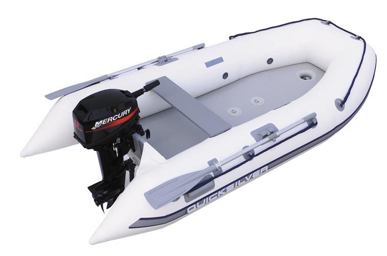 quicksilver airdeck лодка