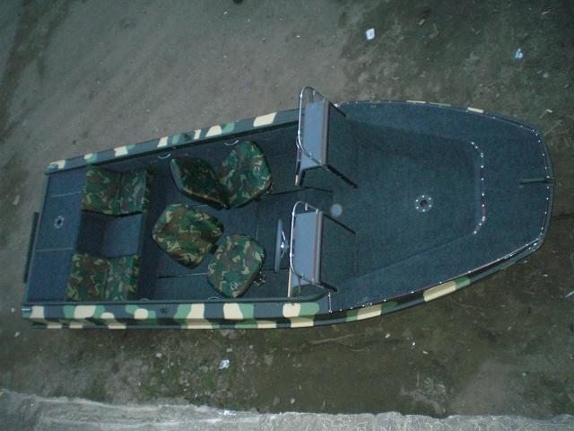 Кокпит лодки своими руками