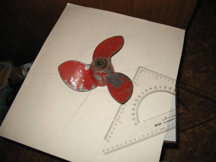подрезать винт ветерок 8