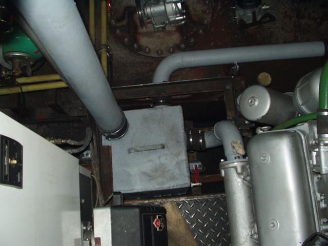 Схема охлаждения двигателей