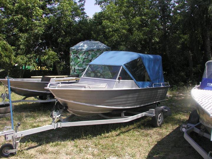 вельбот лодку прогресс