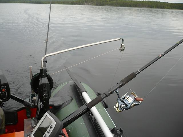 Техника ловли с даунриггером
