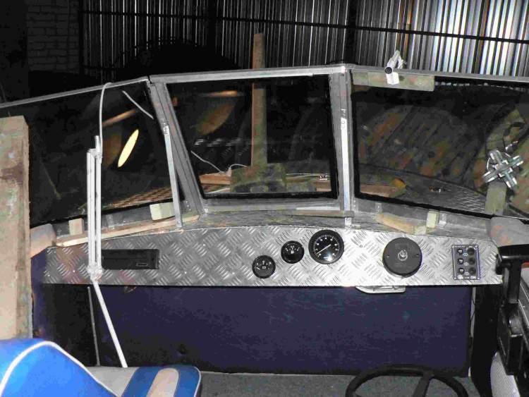 Приборная панель катера своими руками 47
