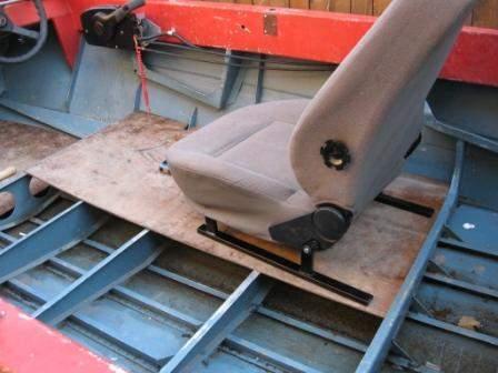 сиденья для дюралевой лодки своими руками