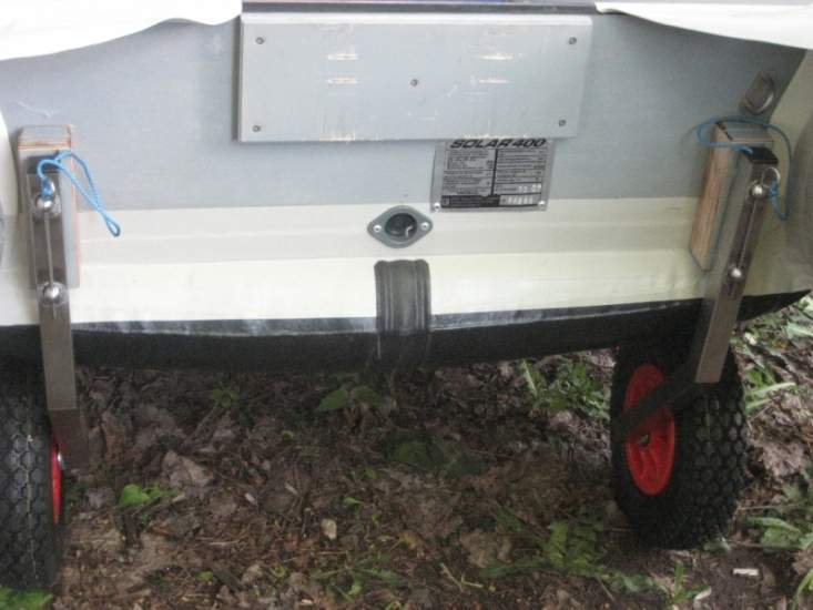 транцевые колеса для лодок солар 330