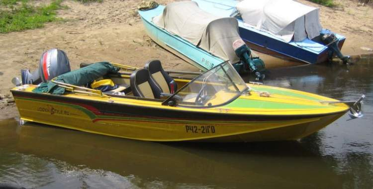 тюнинг лодок днепр фото