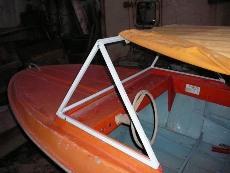 ветровое стекло на лодку воронеж своими руками