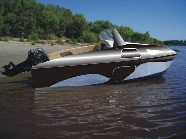 покраска лодки автомобильной краской