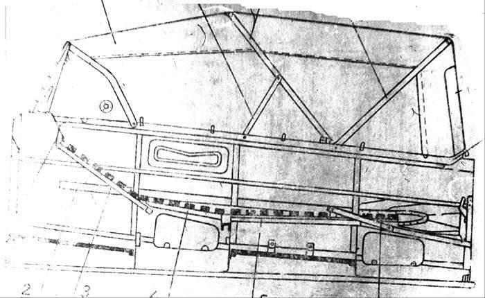 Выкройка тента на катер 175