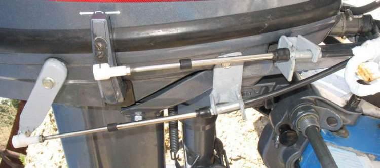 рулевой трос для лодочного мотора ямаха ремонтакте