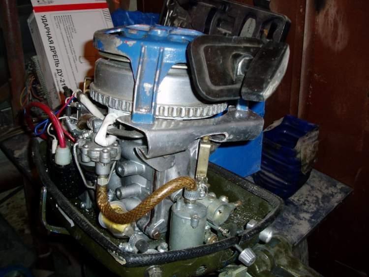 Электростартер лодочного мотора ветерок 8 своими руками