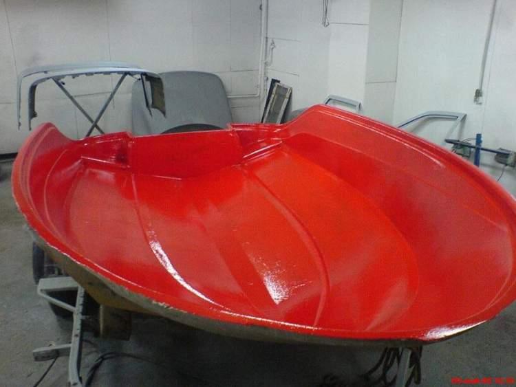 Лекала для изготовления лодки из пвх