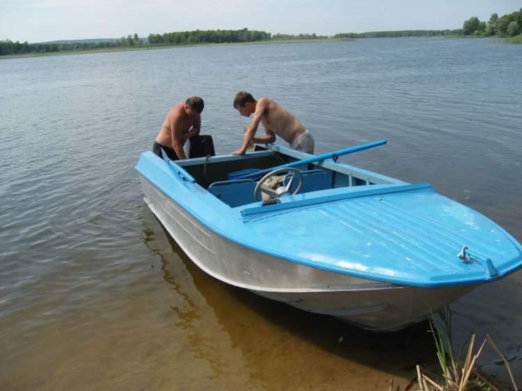 каркасная лодка ока