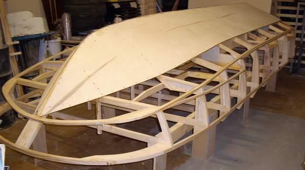 изготовим лодку из фанеры