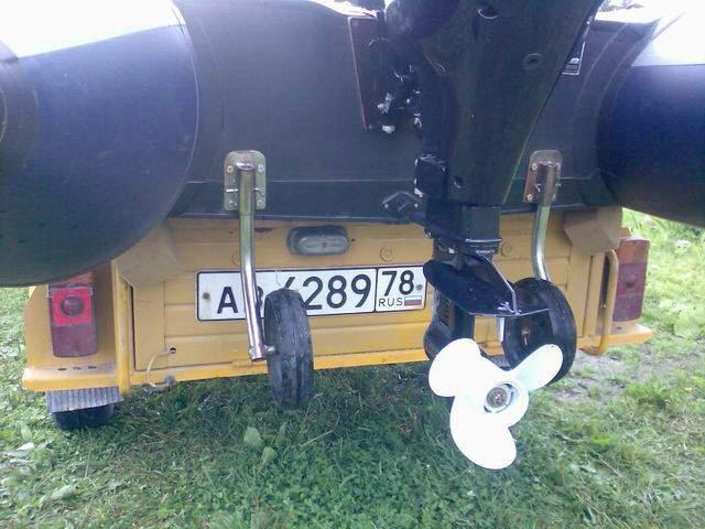 Транцевые колёса для лодки пвх своими руками фото