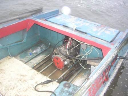 Как установит водомет на лодку крым
