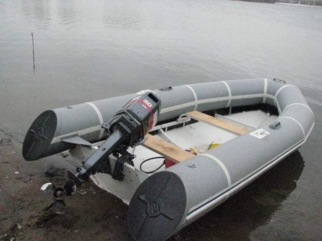изготовление лодки риб своими руками