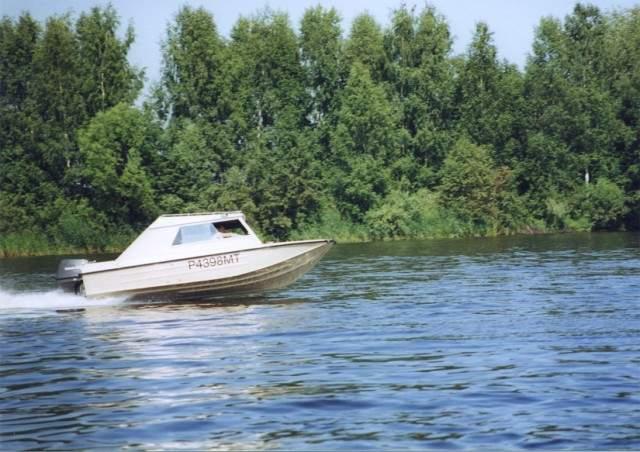 моторная лодка ока 4 с фото и описанием