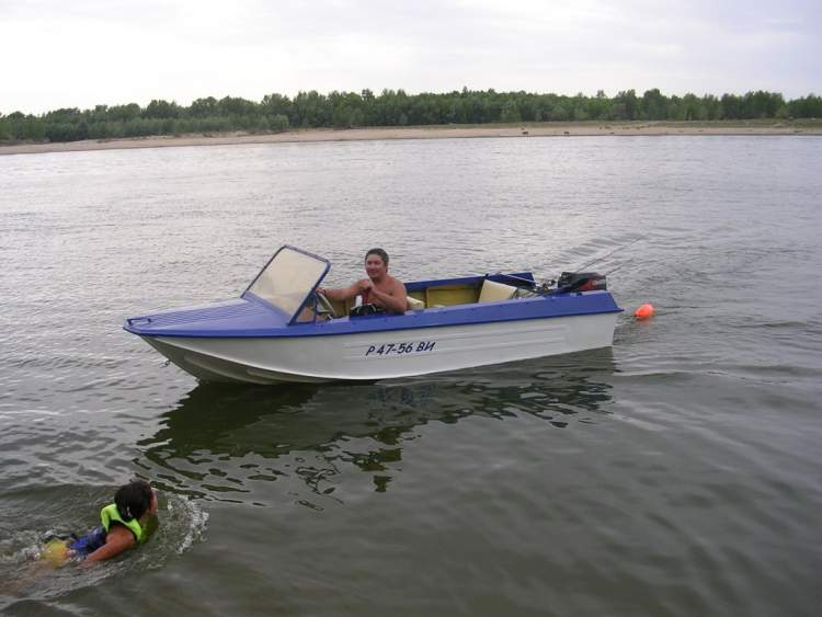 лодка ока украина