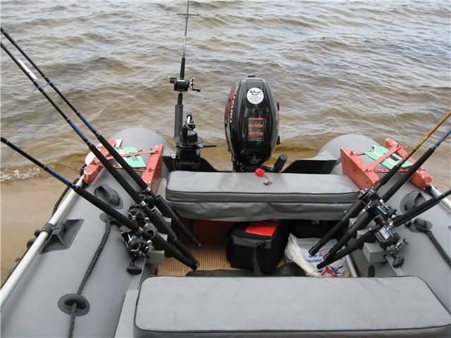 Спинингодержатели для лодки пвх своими руками