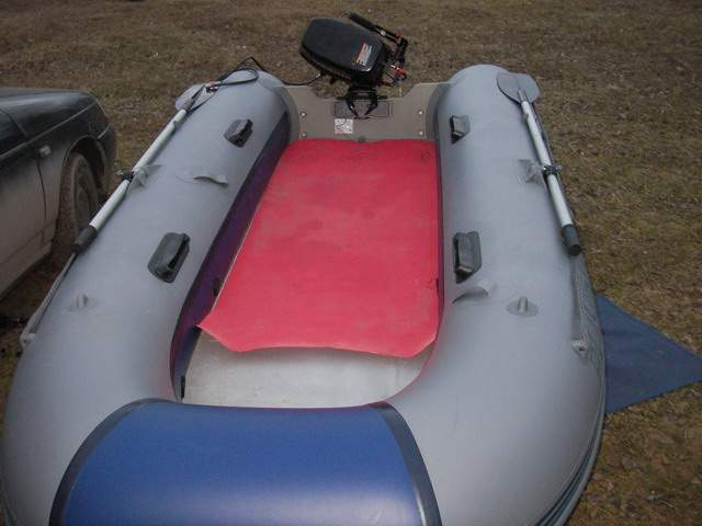 лодка надувная моторная 380
