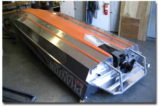 установка подвесного водомет на лодку